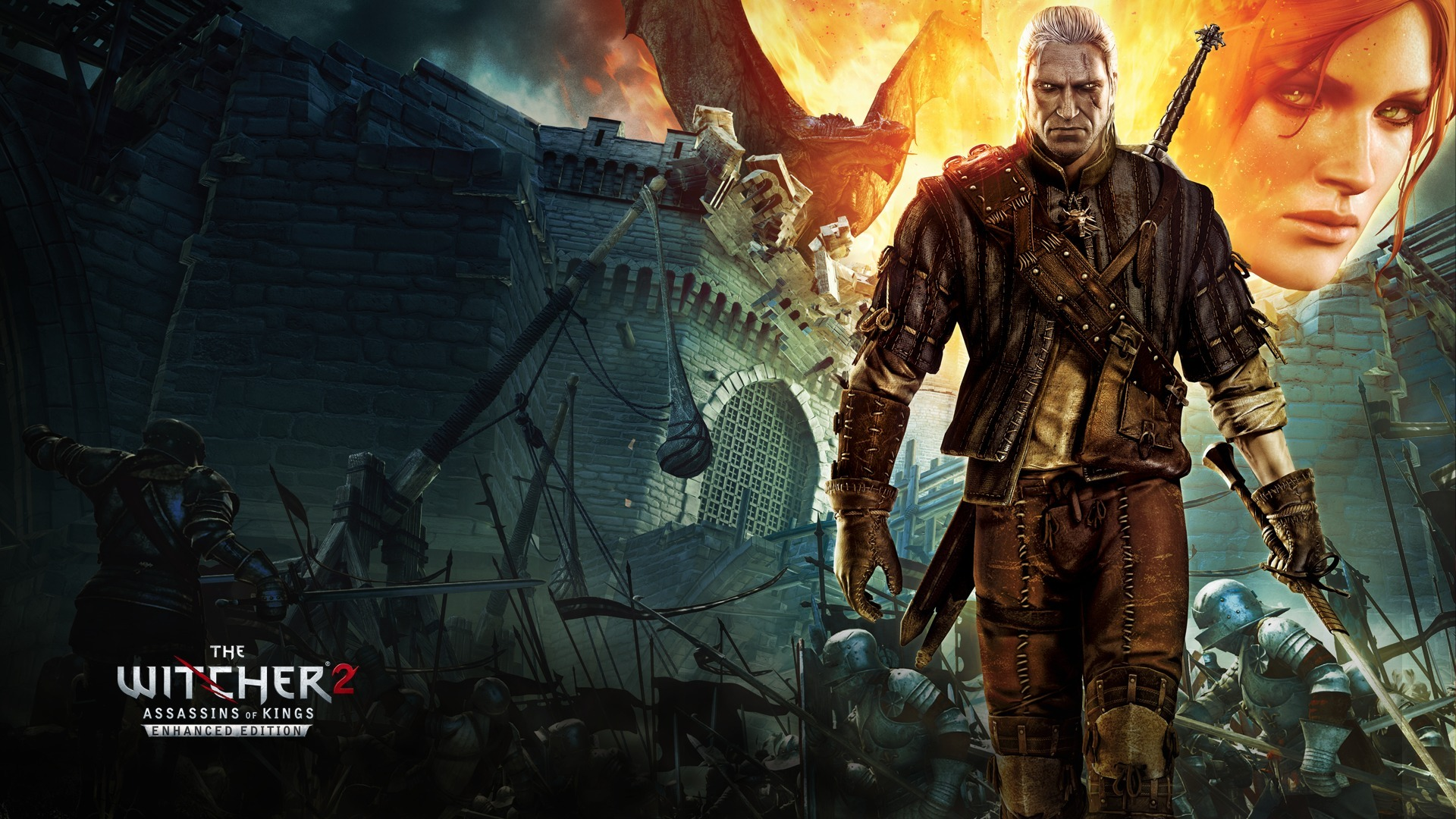 Desktop Wallpapers The Witcher The Witcher 2 Assassins of 1920x1080 1920x1080