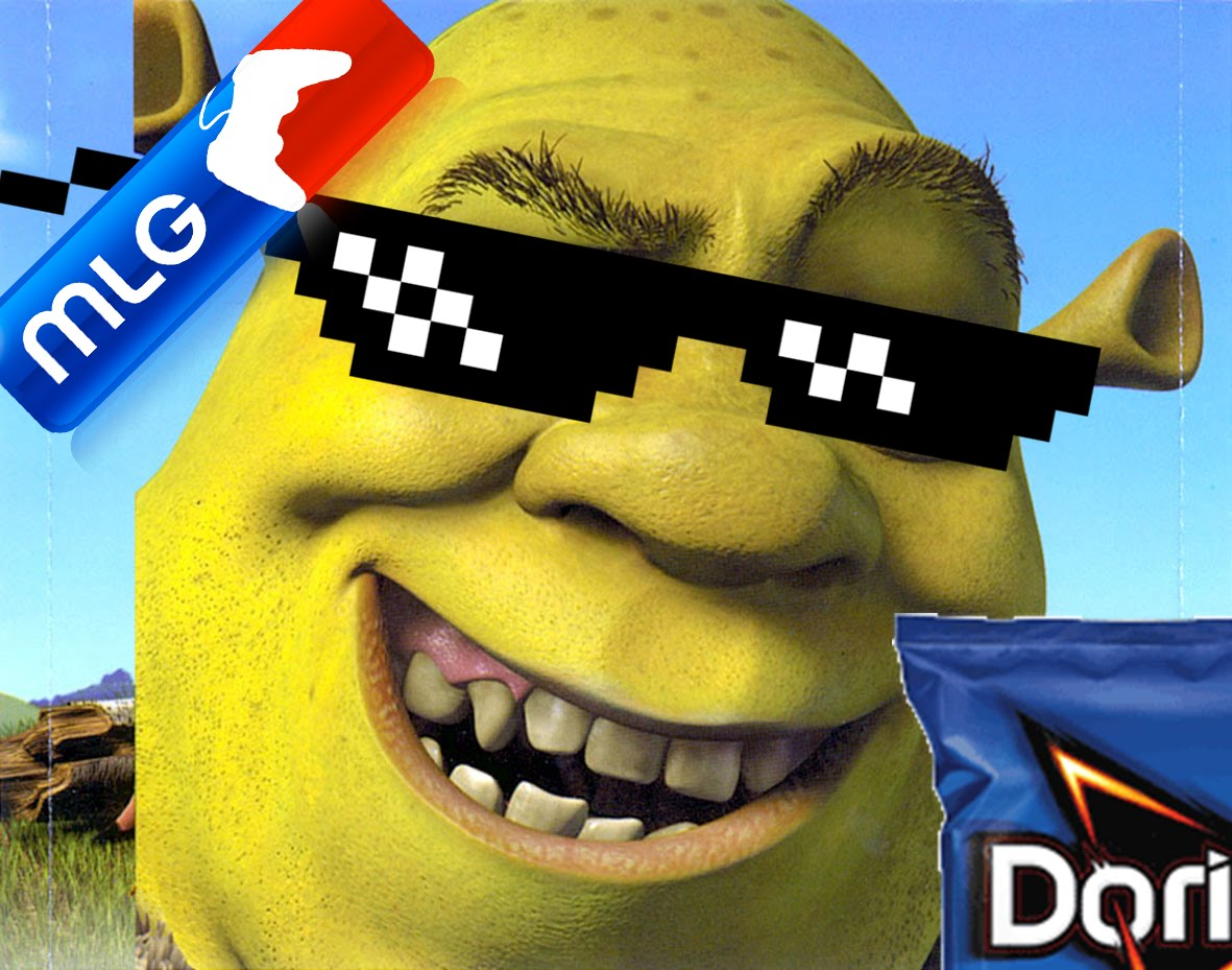 Free Download Mlg Shrek 1181x929 For Your Desktop Mobile