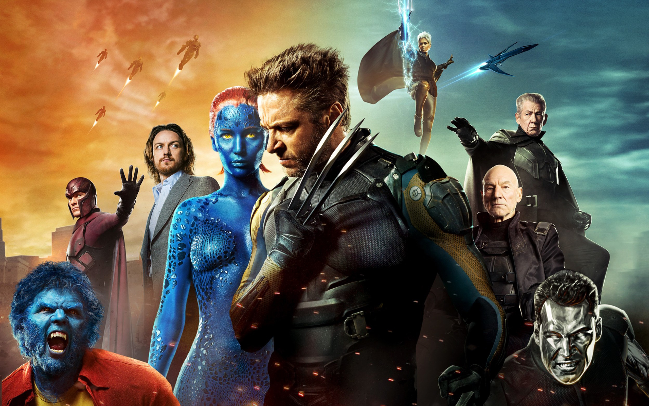 Men Days of Future Past Poster Wallpapers HD Wallpapers 2560x1600