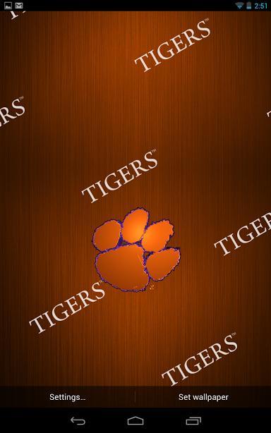 iPhone Tigers - Clemson Wallpaper WallpaperSafari