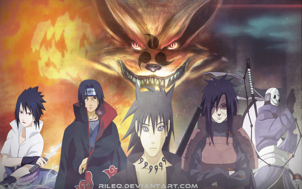 Uchiha Clan Wallpaper by RiLeq 1024x640