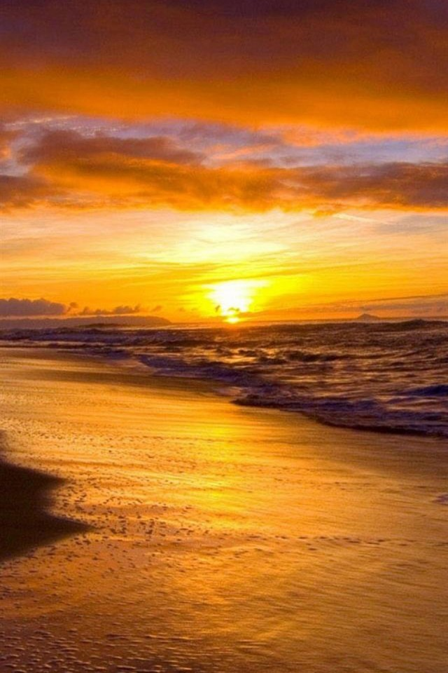 Sunset Beach Wallpaper For Iphone photos Best Place To Find Wallpaper 640x960
