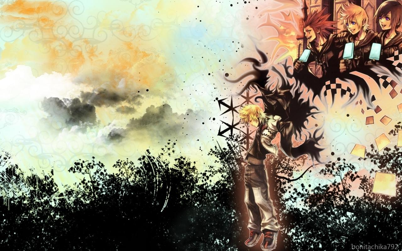 Kingdom Hearts 3582 Days KH 1280x800