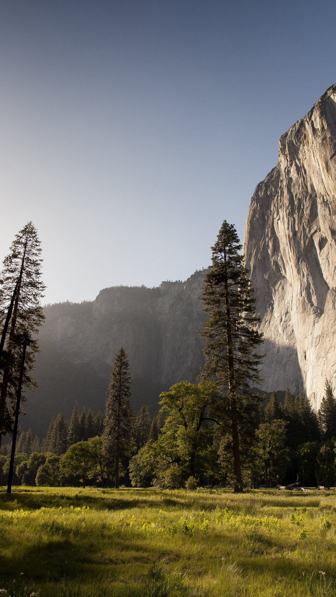 Sunset lighting up El Capitan HD Wallpapers 4K Wallpapers 1080x1920