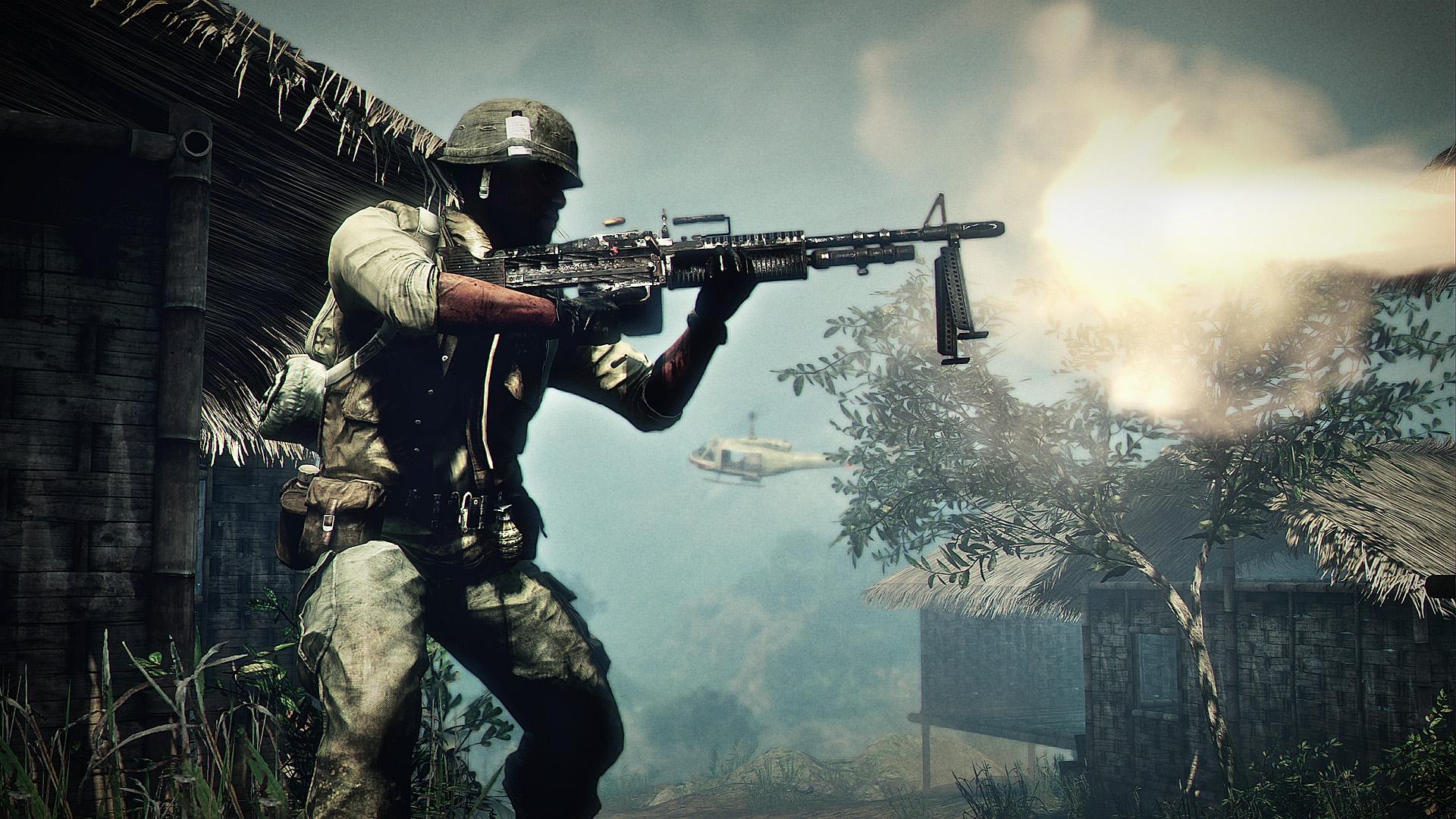 Battlefield 1 War Video Game Hd Wallpaper: Vietnam War Wallpaper HD