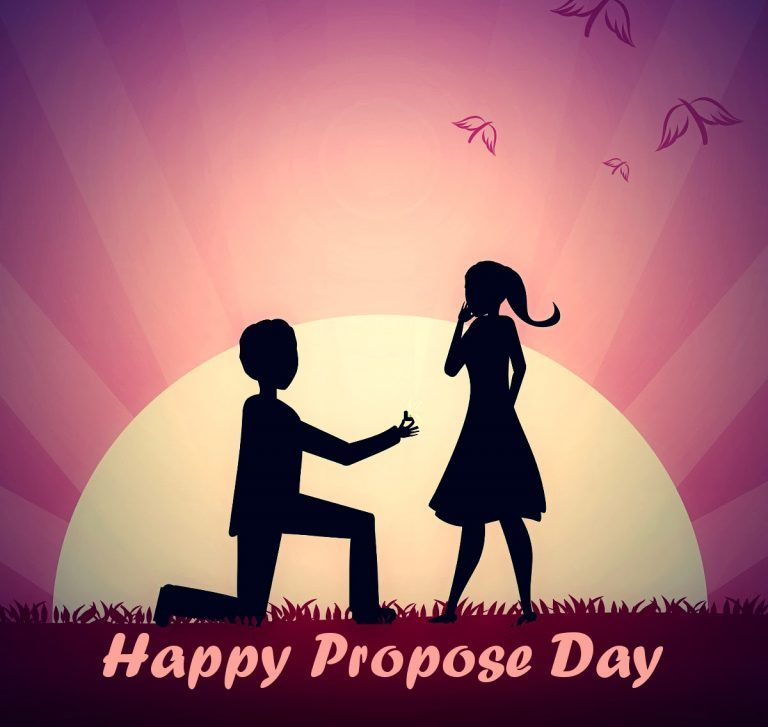 Happy Propose day Images Pics Photos Wallpapers 768x727