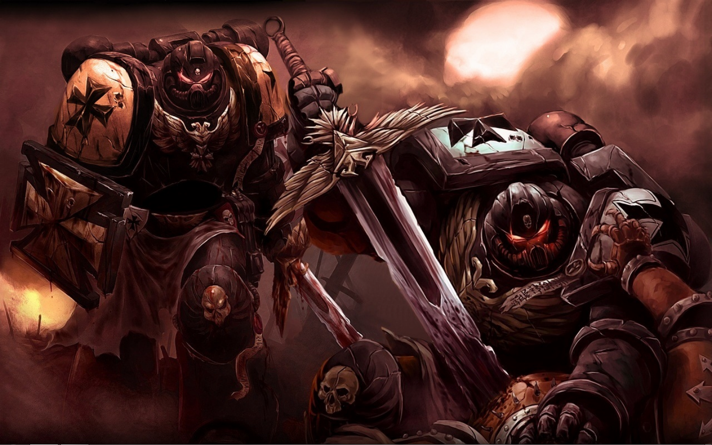 Warhammer 40K Wallpaper 1440x900 Warhammer 40K Space Marines 1440x900