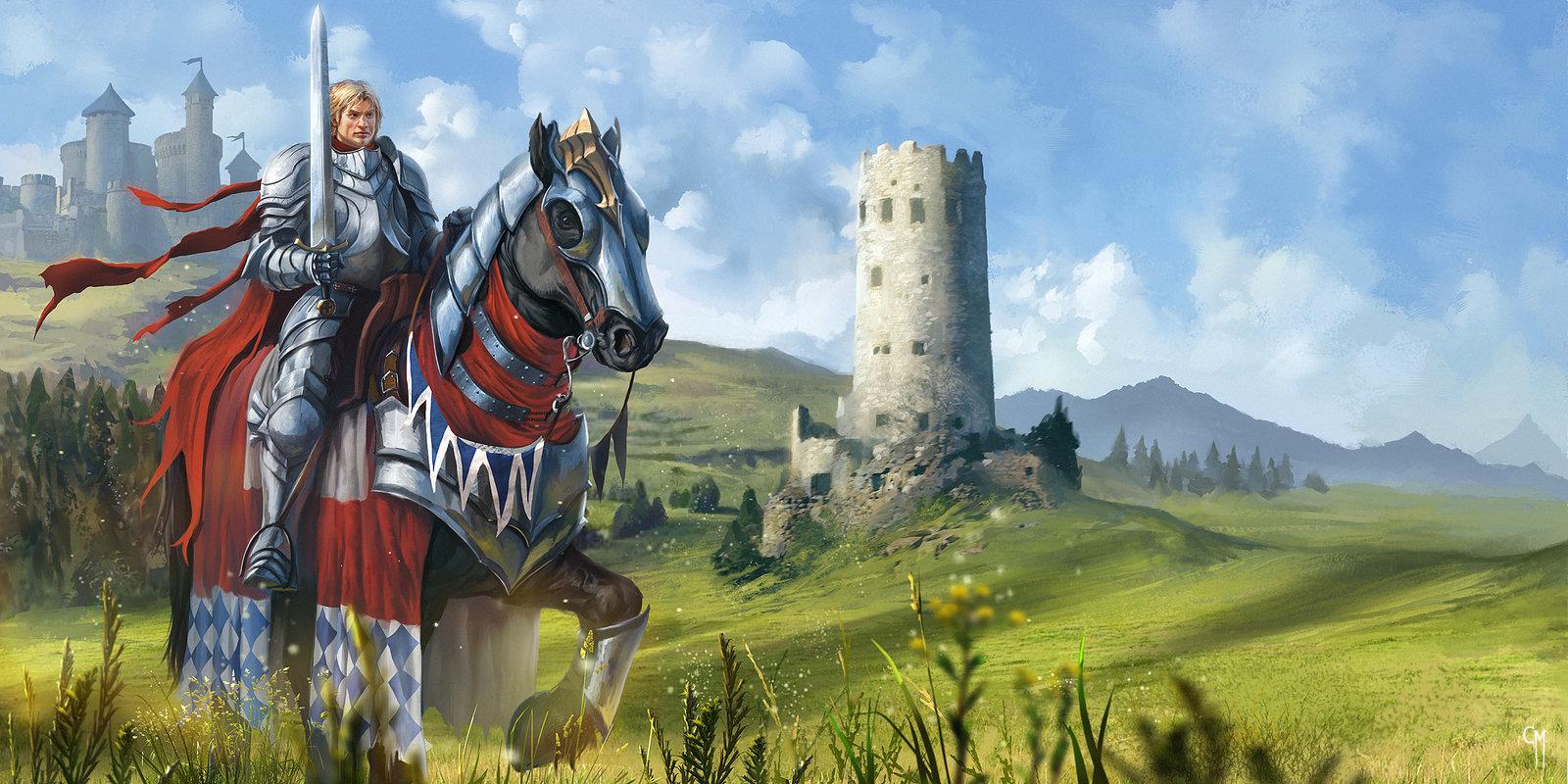 Medieval Fair   The Good Knight by caiomm 1600x800