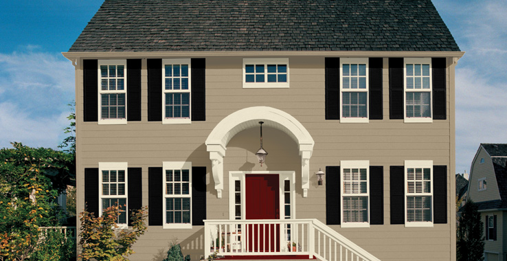 Go Back Gallery For Classic French Gray Sherwin Williams Exterior 738x380