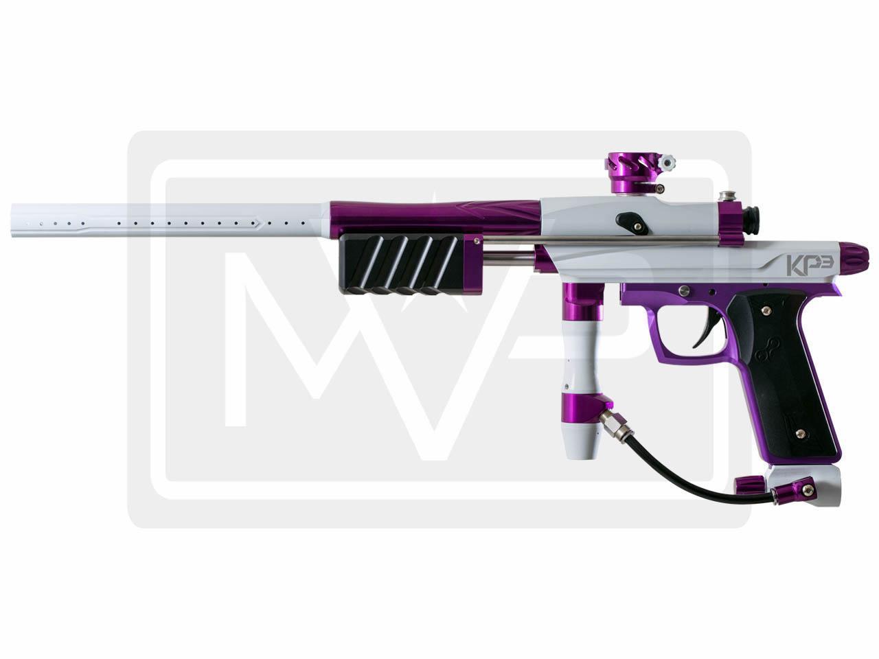 Azodin KP3 Pump Paintball Gun   White Purple Mountain View 1280x960