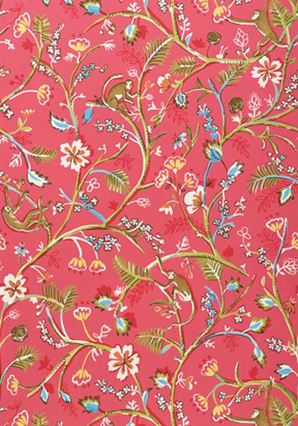 Thibaut   Jubilee   Thibaut Guadeloupe T4943   Select Wallpaper 420x600