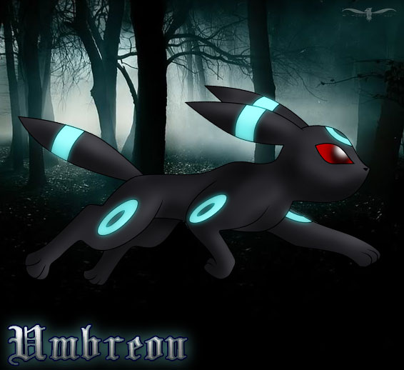 PKMN   Shiny Umbreon by LtJJFalcon 566x518