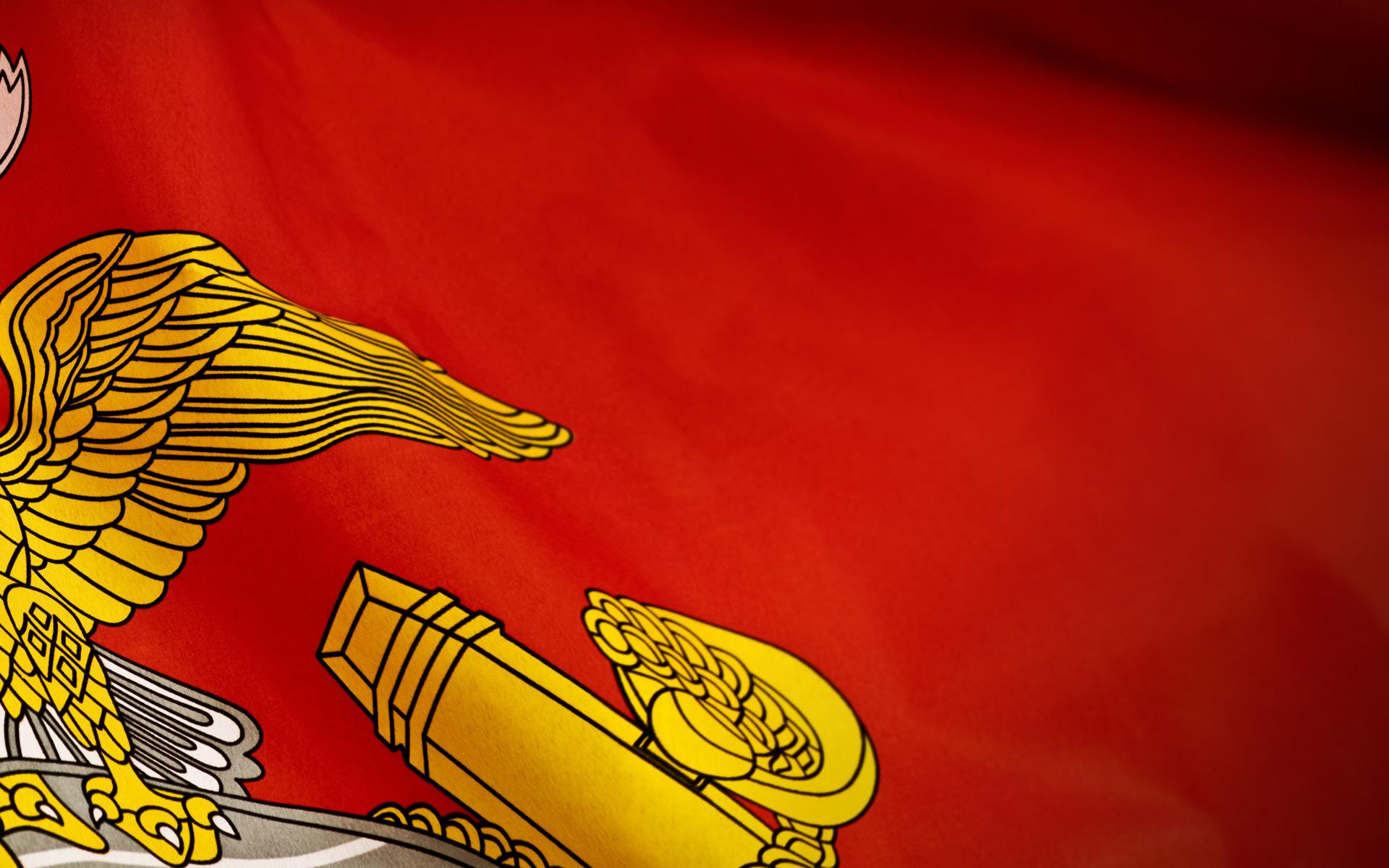 Marine Flag Wallpaper - WallpaperSafari