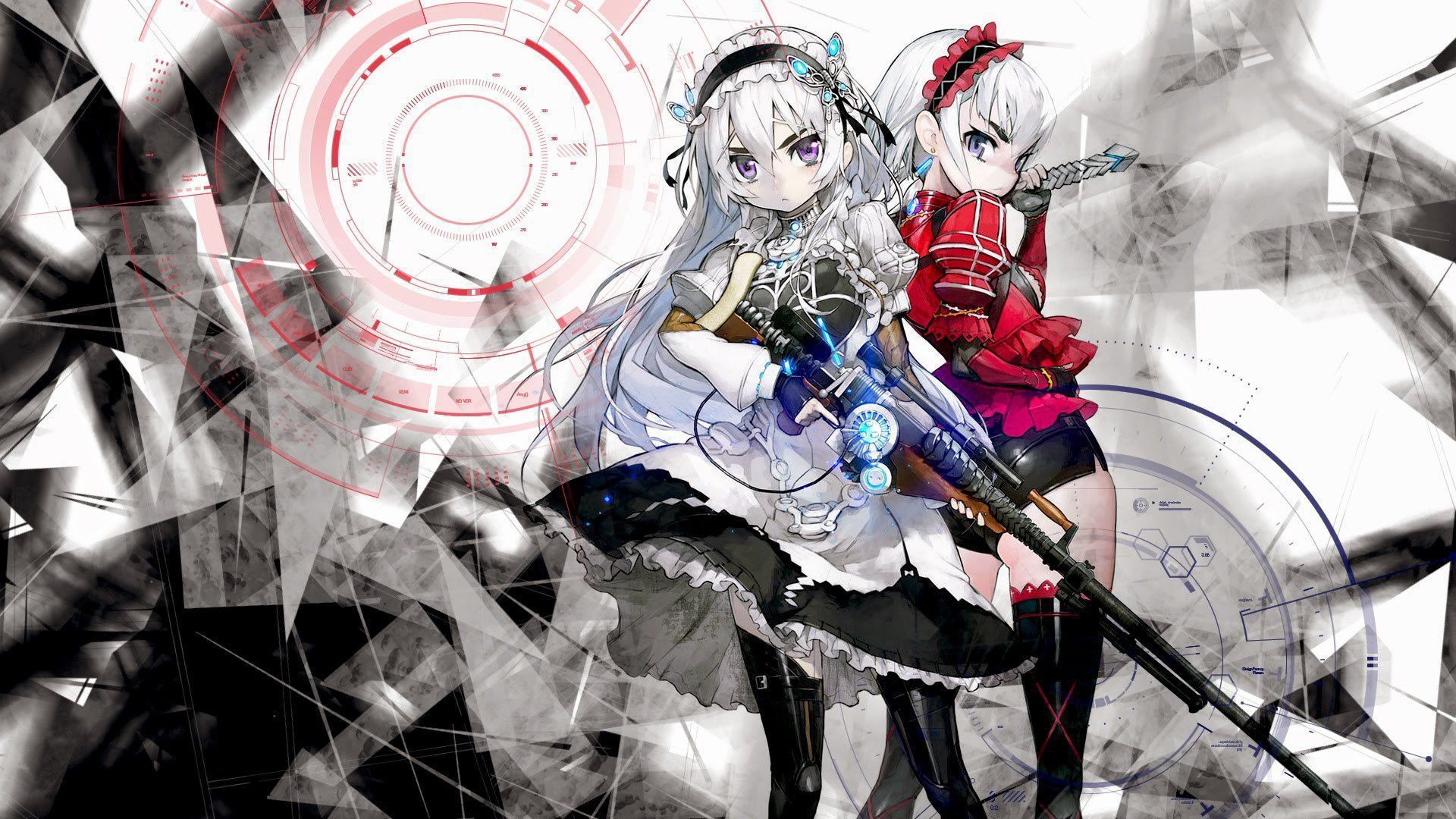 Chaika  The Coffin Princess  Wallpapers Backgrounds 1920x1080