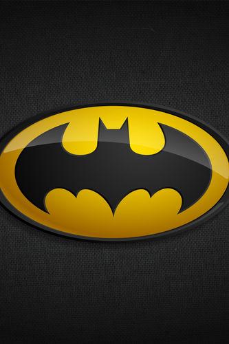 Superhero Logo Iphone Wallpaper Batman classic logo for iphone 333x500