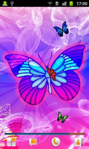 Butterflies Live Wallpaper App for Android 307x512