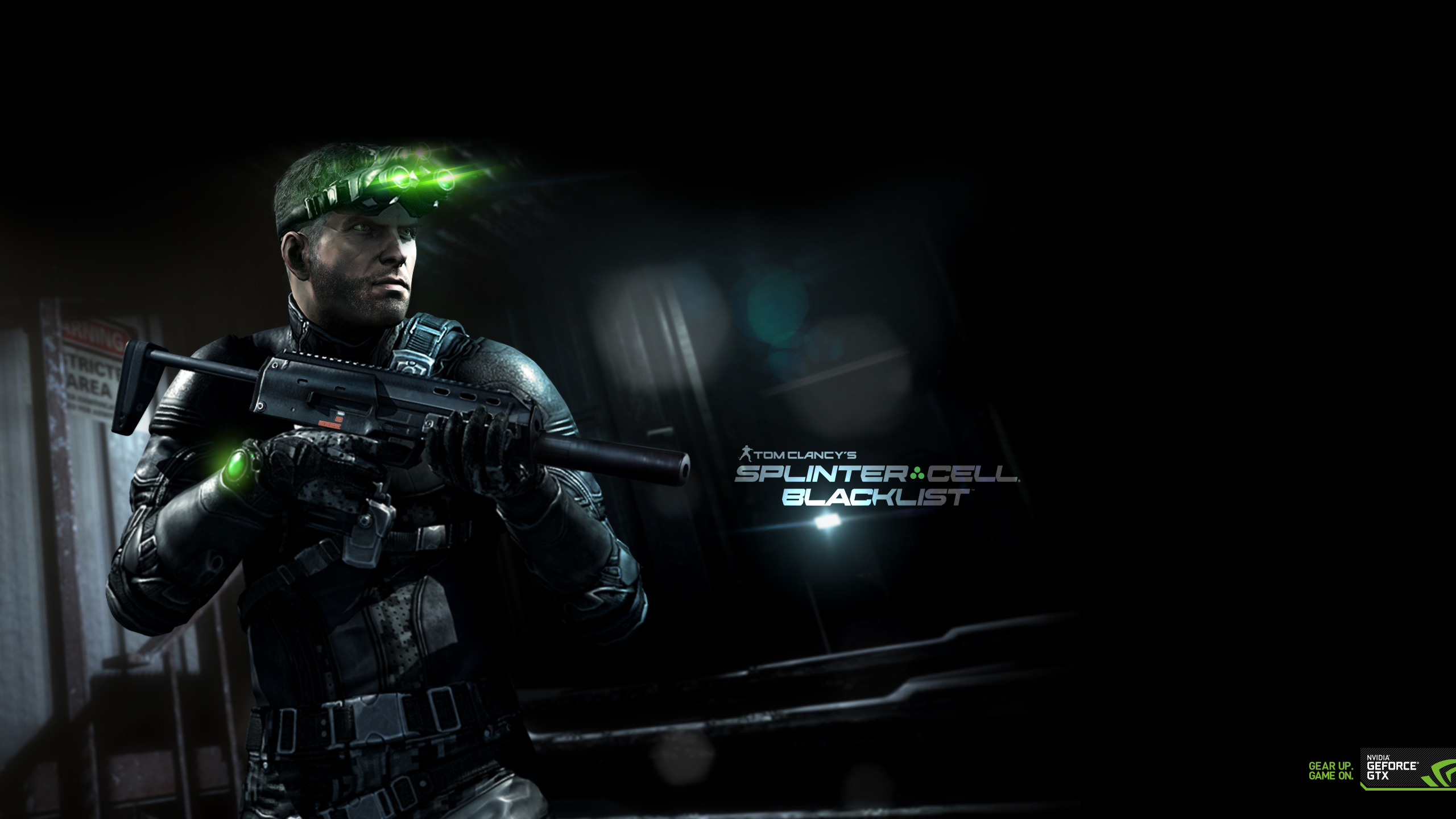 Clancys Splinter Cell Blacklist Wallpaper Now Available GeForce 2560x1440