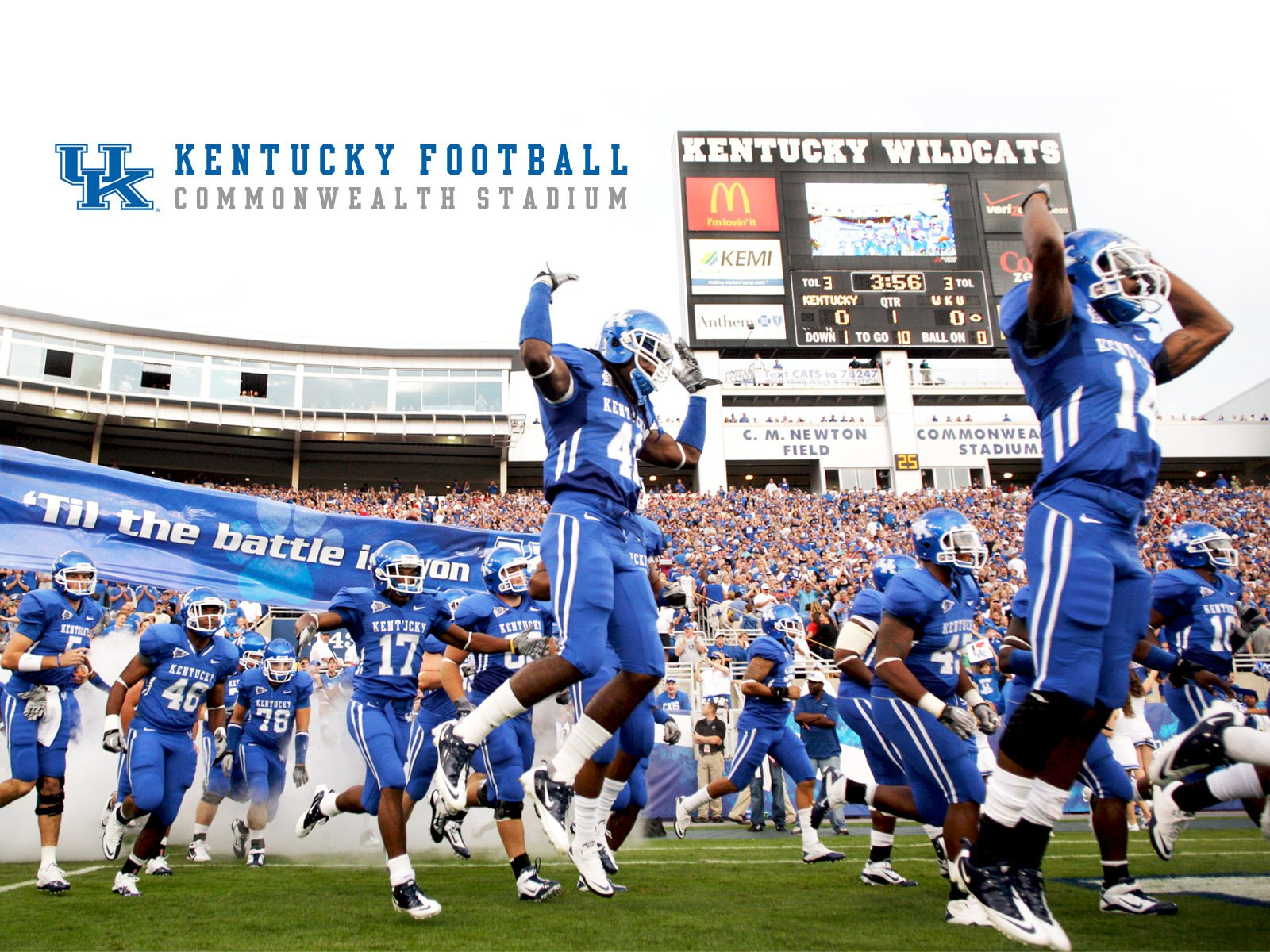 Kentucky Wildcats Official Athletic Site Football 2016 Car Release 1600x1200