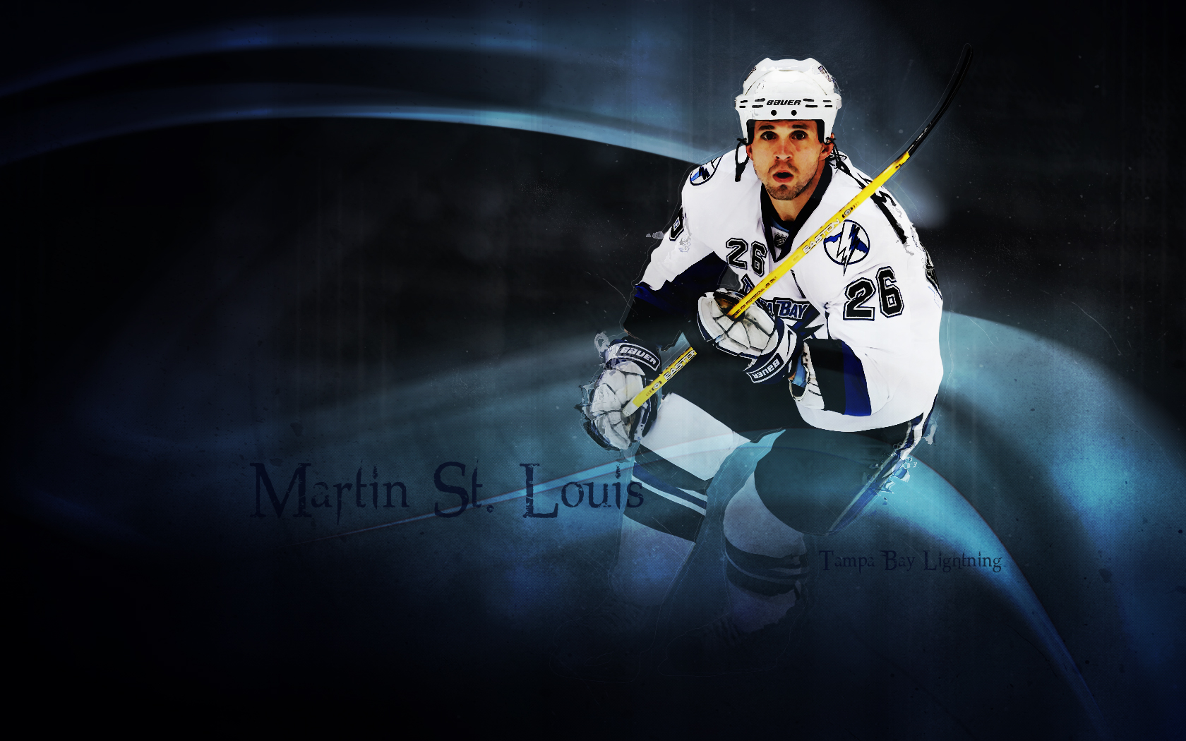 Martin St Louis Tampa Bay Lightning Wallpaper 172062 HD Wallpaper 1680x1050