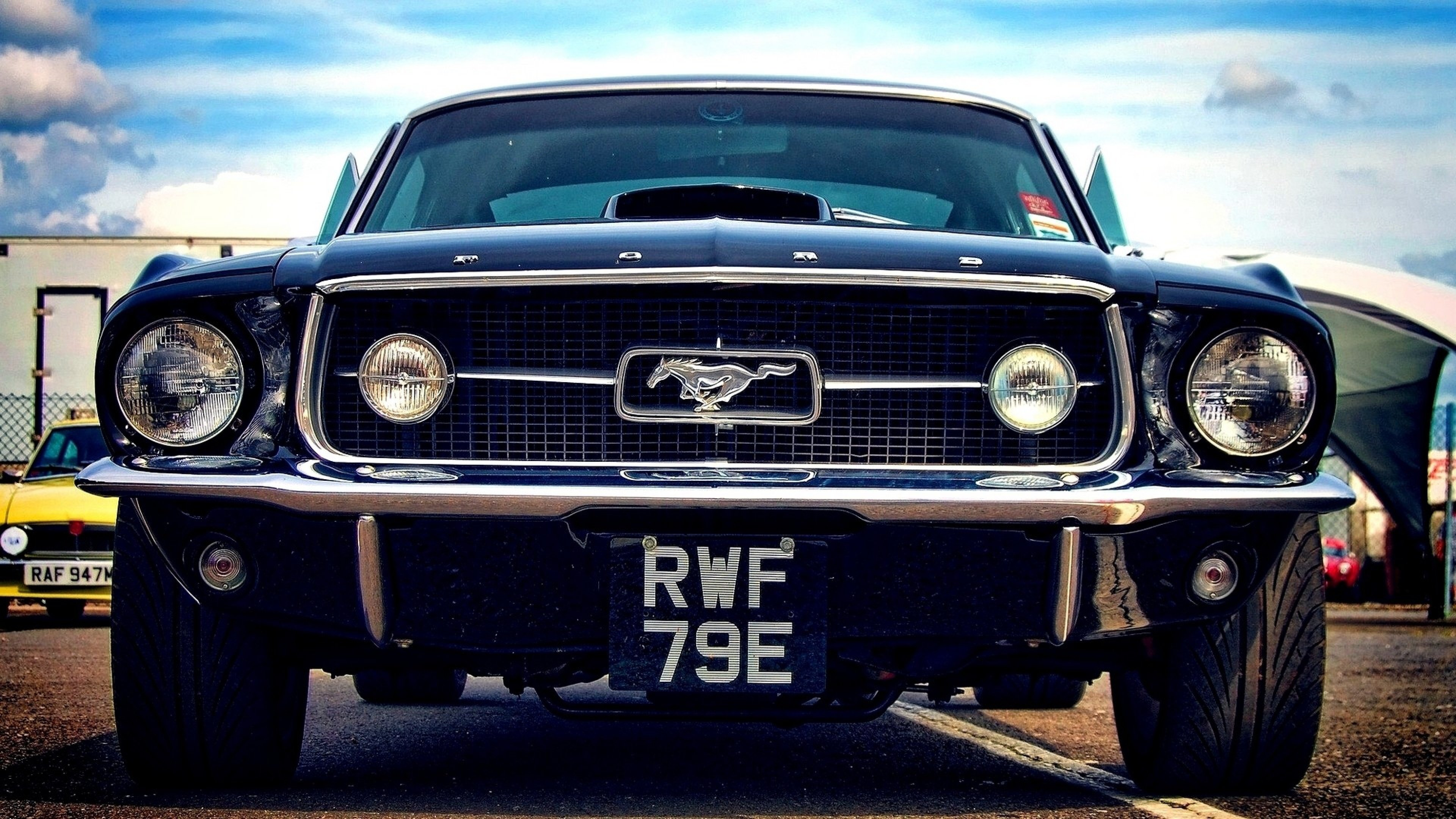 Download Wallpaper 3840x2160 ford mustang auto style turbo 4K 3840x2160