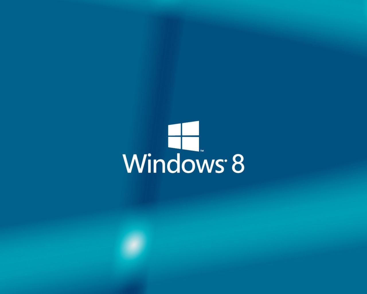 1280x1024 Windows 8 Blue Background desktop PC and Mac wallpaper 1280x1024