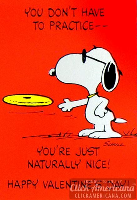 Peanuts Vintage Snoopy Valentines Day cards   Click Americana 439x640
