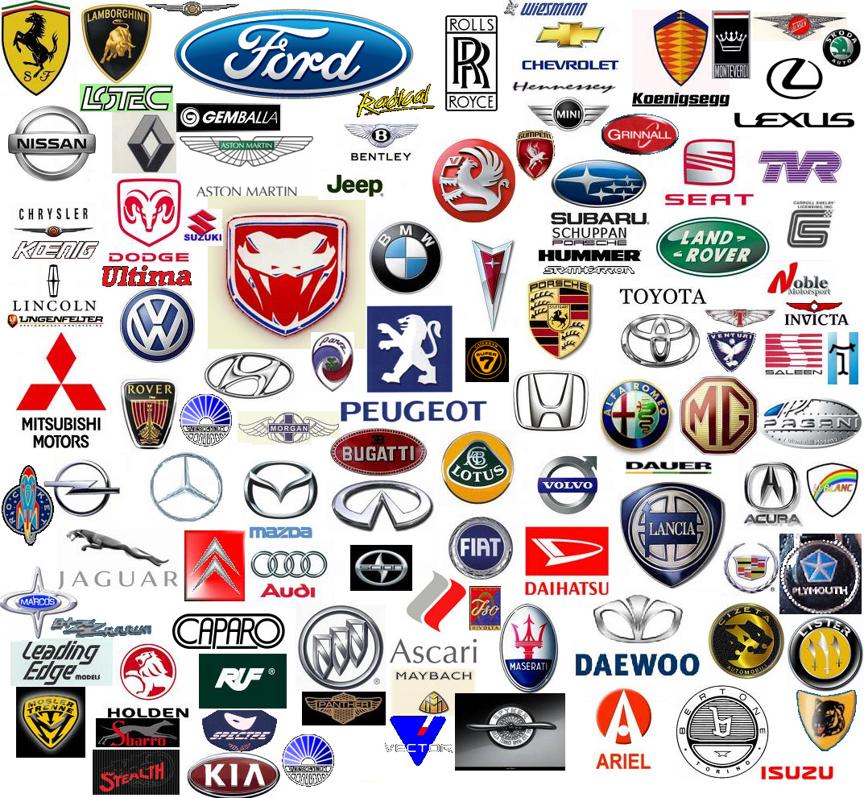All Logos Car Company Logos 1073x990