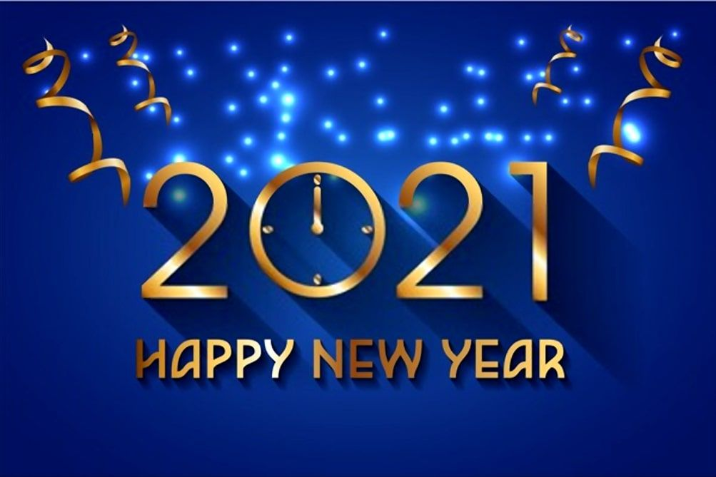 happy new year 2021 wallpapers in 2020 Happy new year wallpaper 1003x669