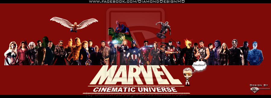 The Marvel Cinematic Universe by DiamondDesignHD 900x328