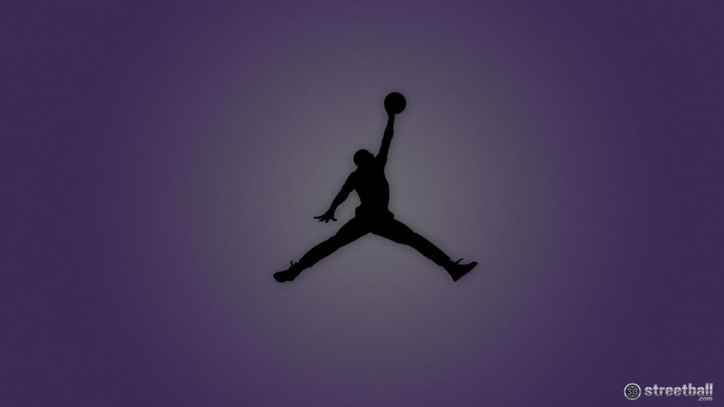 Black Jumpman Logo Jordan Wallpaper HD Background 1024x576