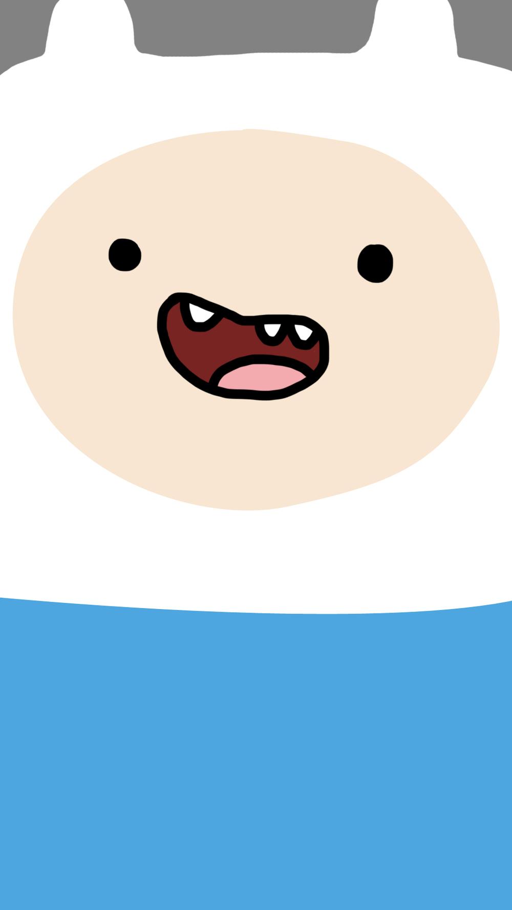 Finn Adventure Time   Phone Wallpaper 1000x1778