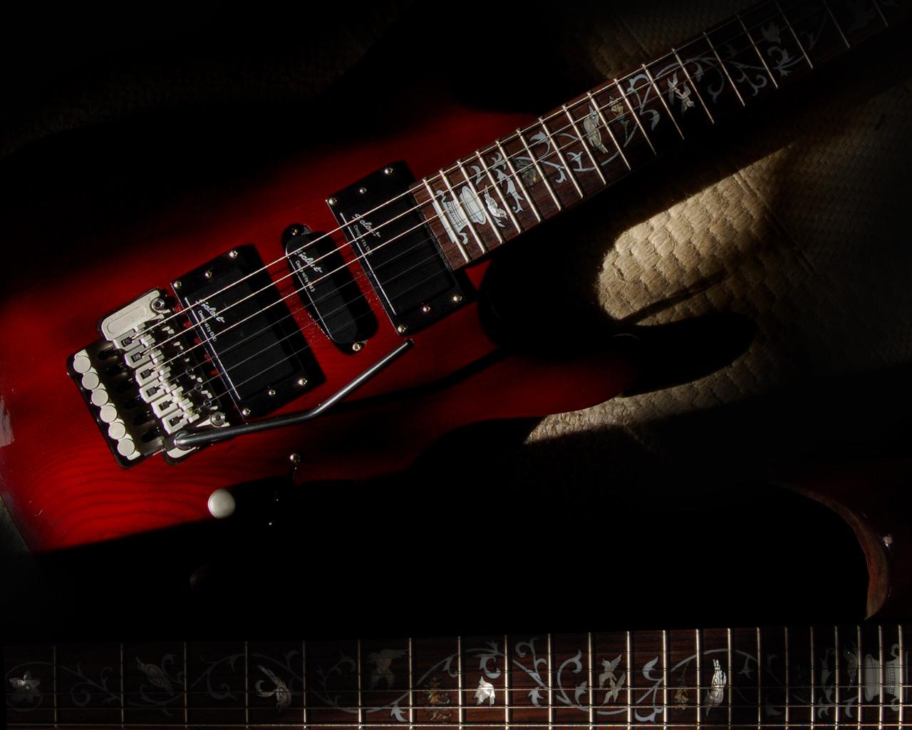 Electric Guitar Wallpaper - WallpaperSafari