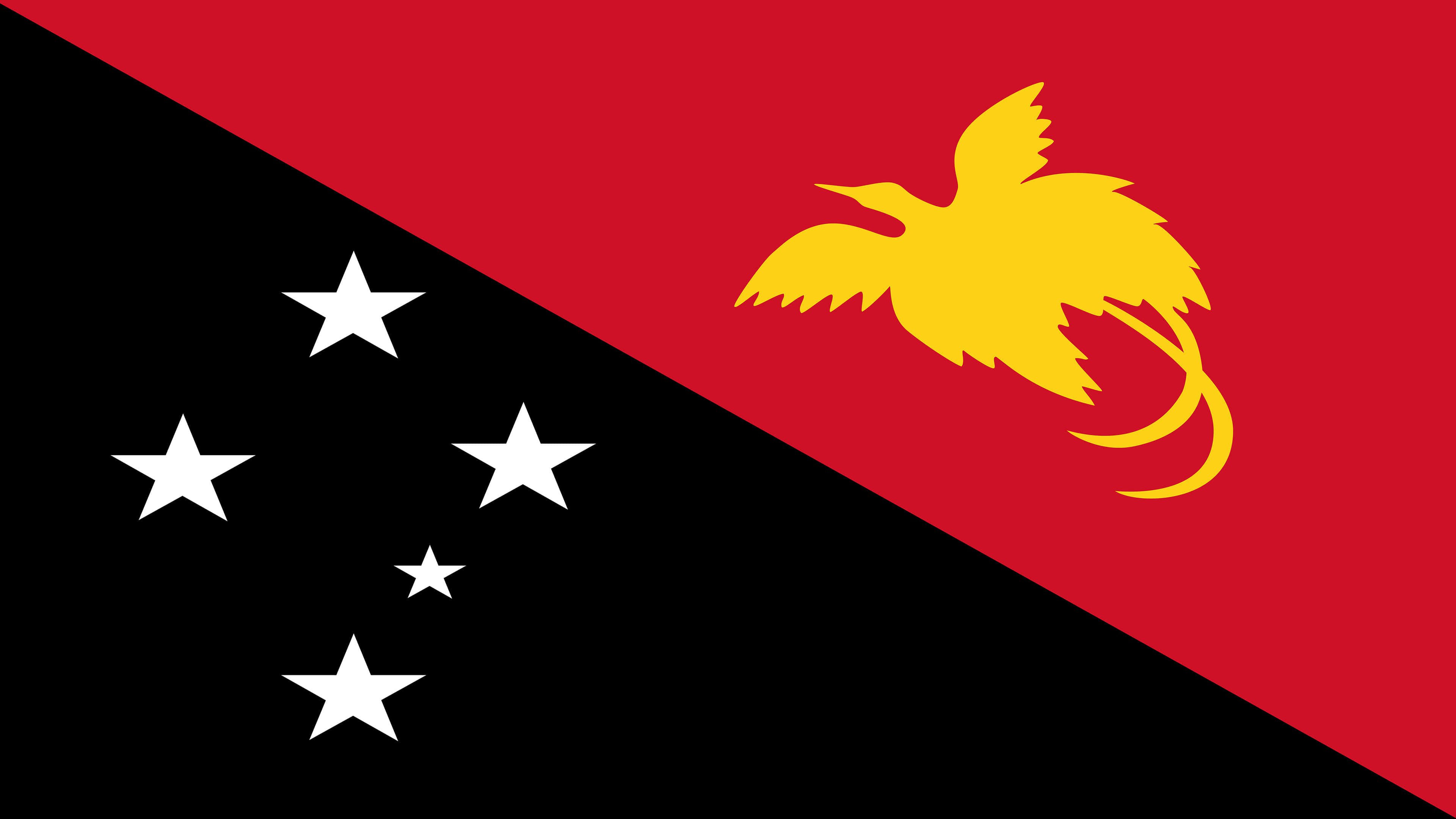 Papua New Guinea Flag UHD 4K Wallpaper Pixelz 3840x2160