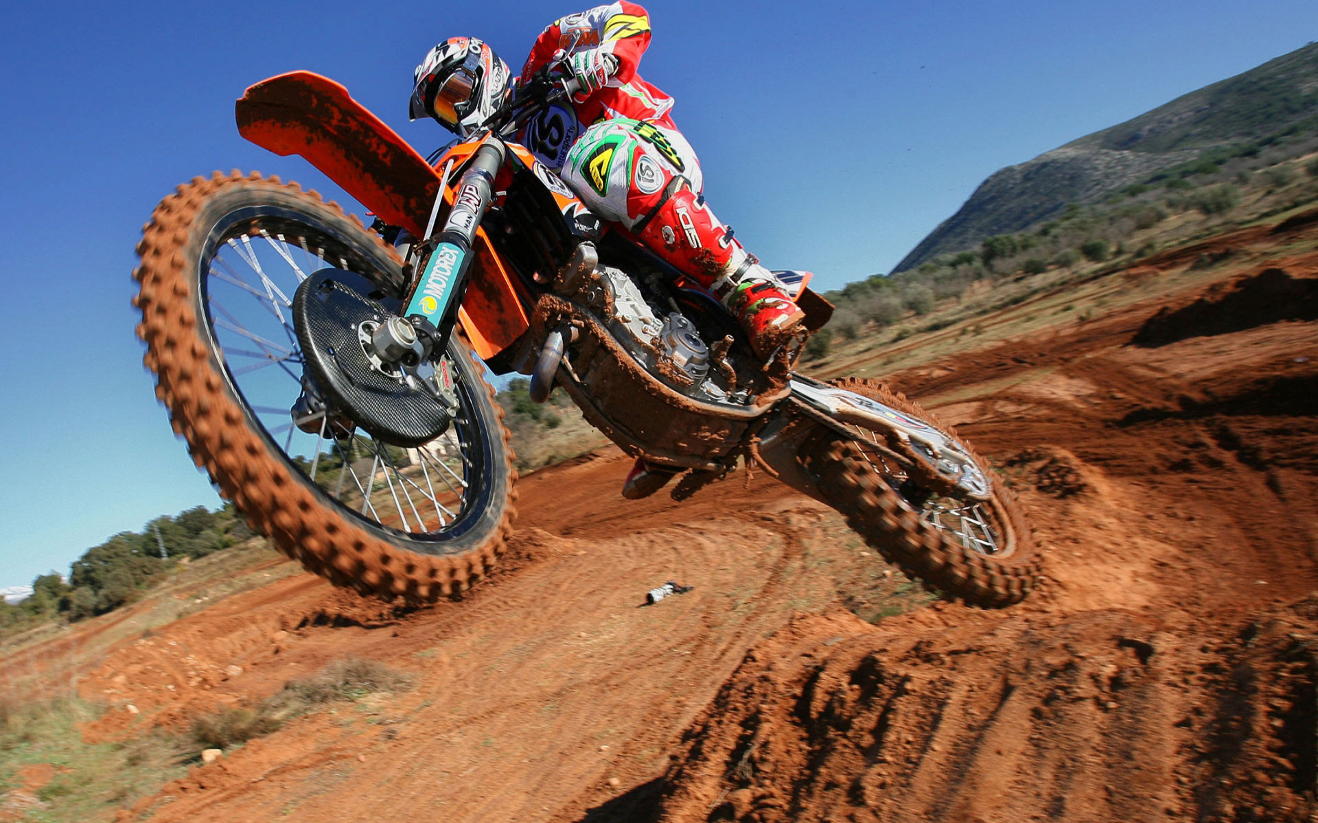 49 Dirt Bike Wallpapers For Desktop On Wallpapersafari