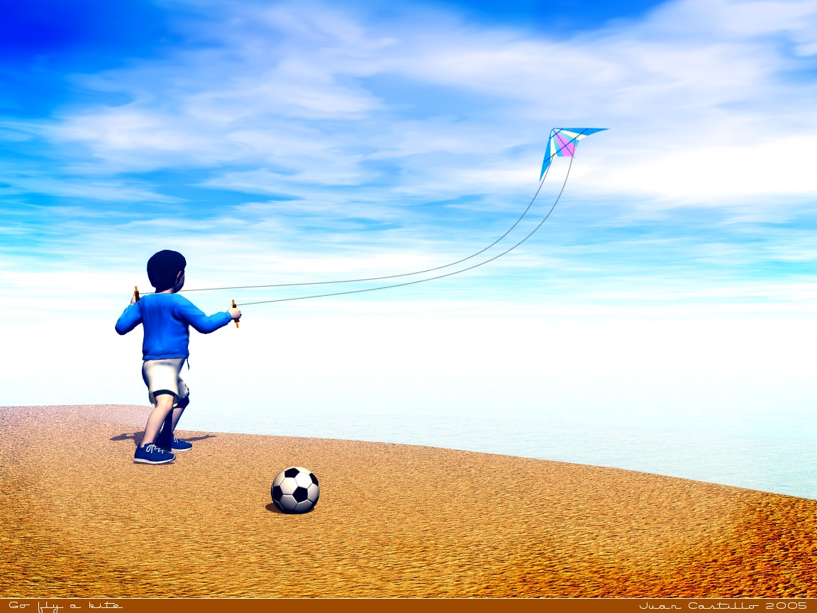 Go fly a kite by rlcwallpapers 1152x864
