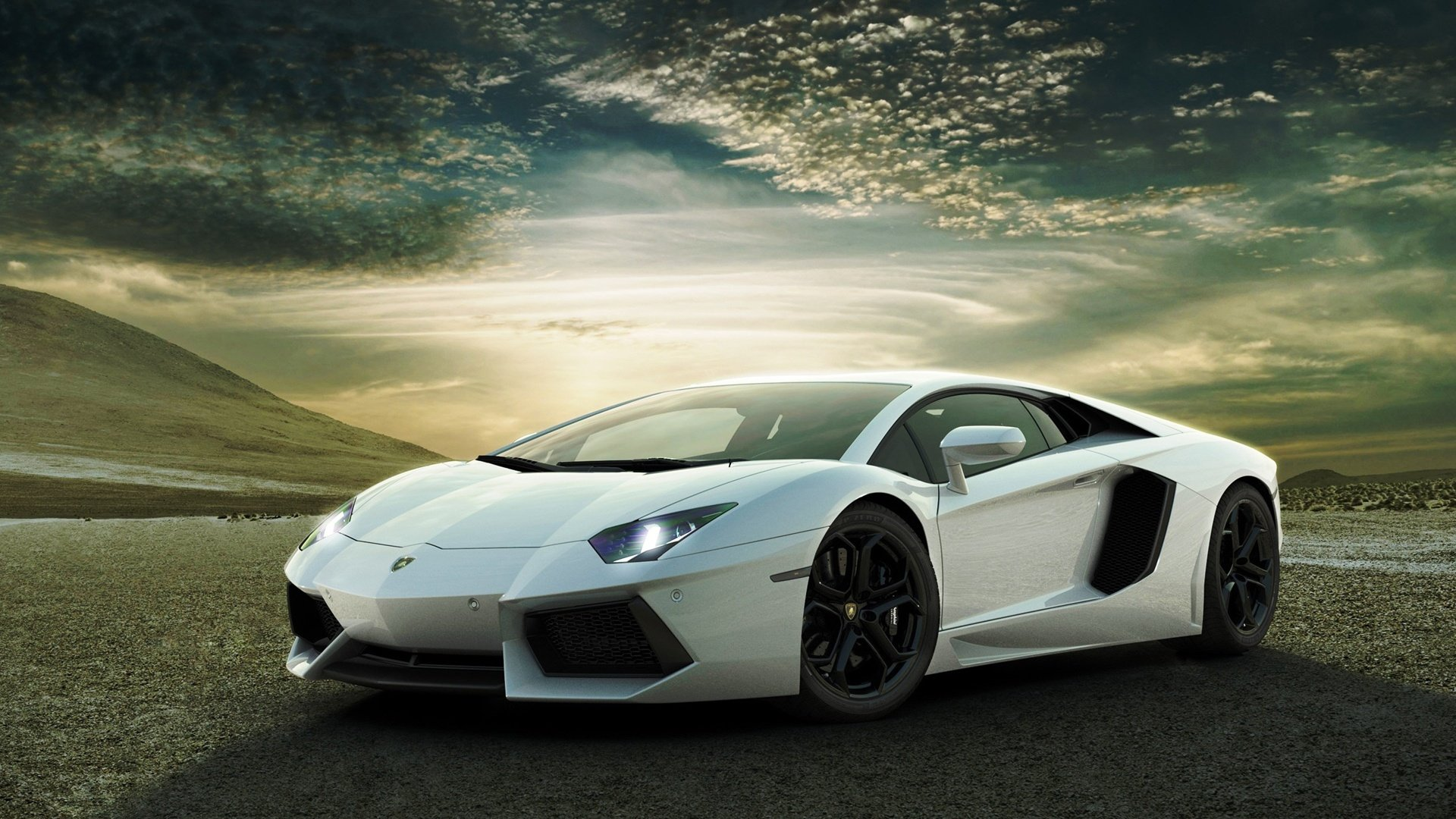 White Lamborghini Aventador Wallpapers HD Wallpapers 1920x1080