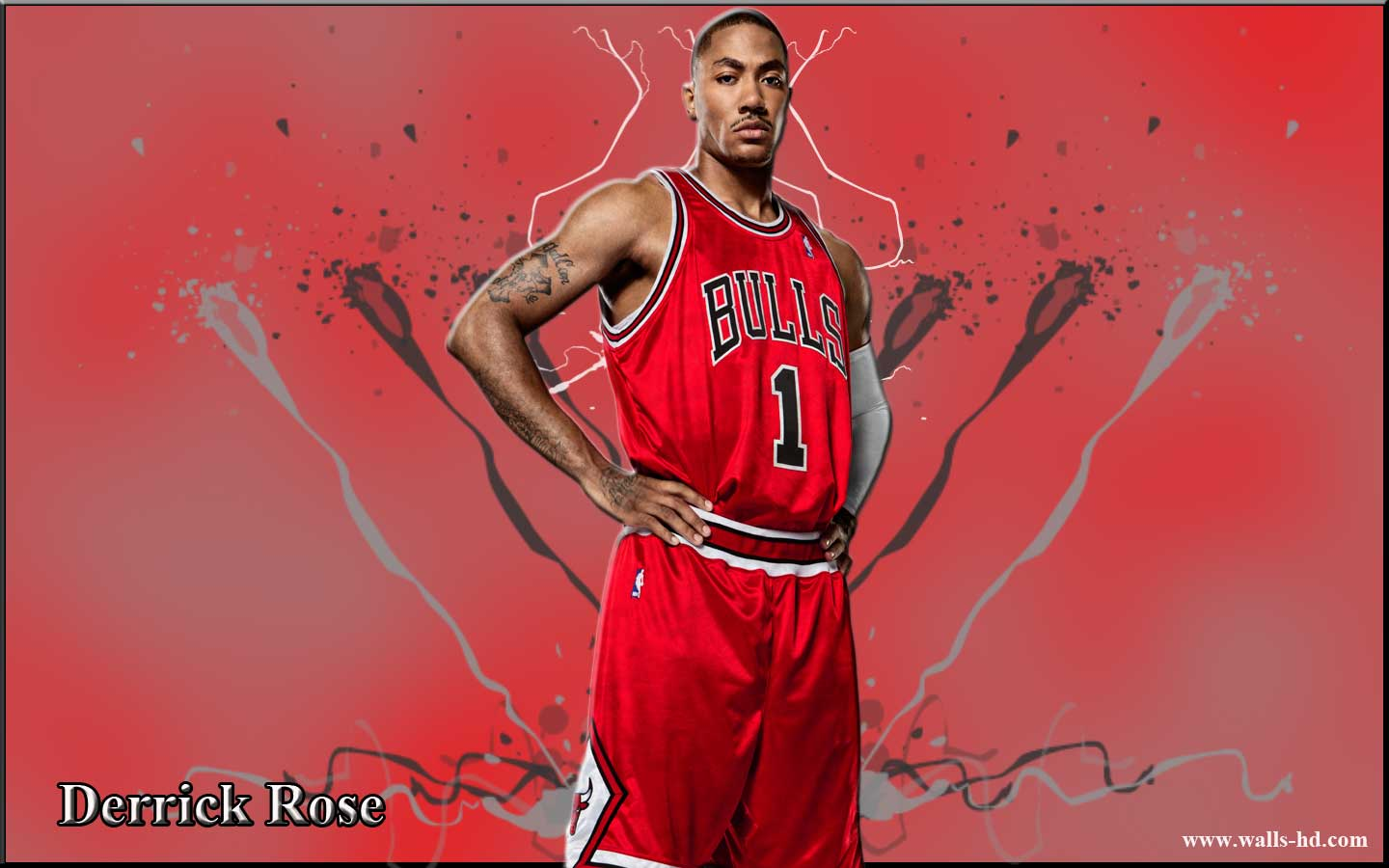Derrick Rose Chicago Bulls Wallpaper Derrick Rose Chicago Bulls 1440x900