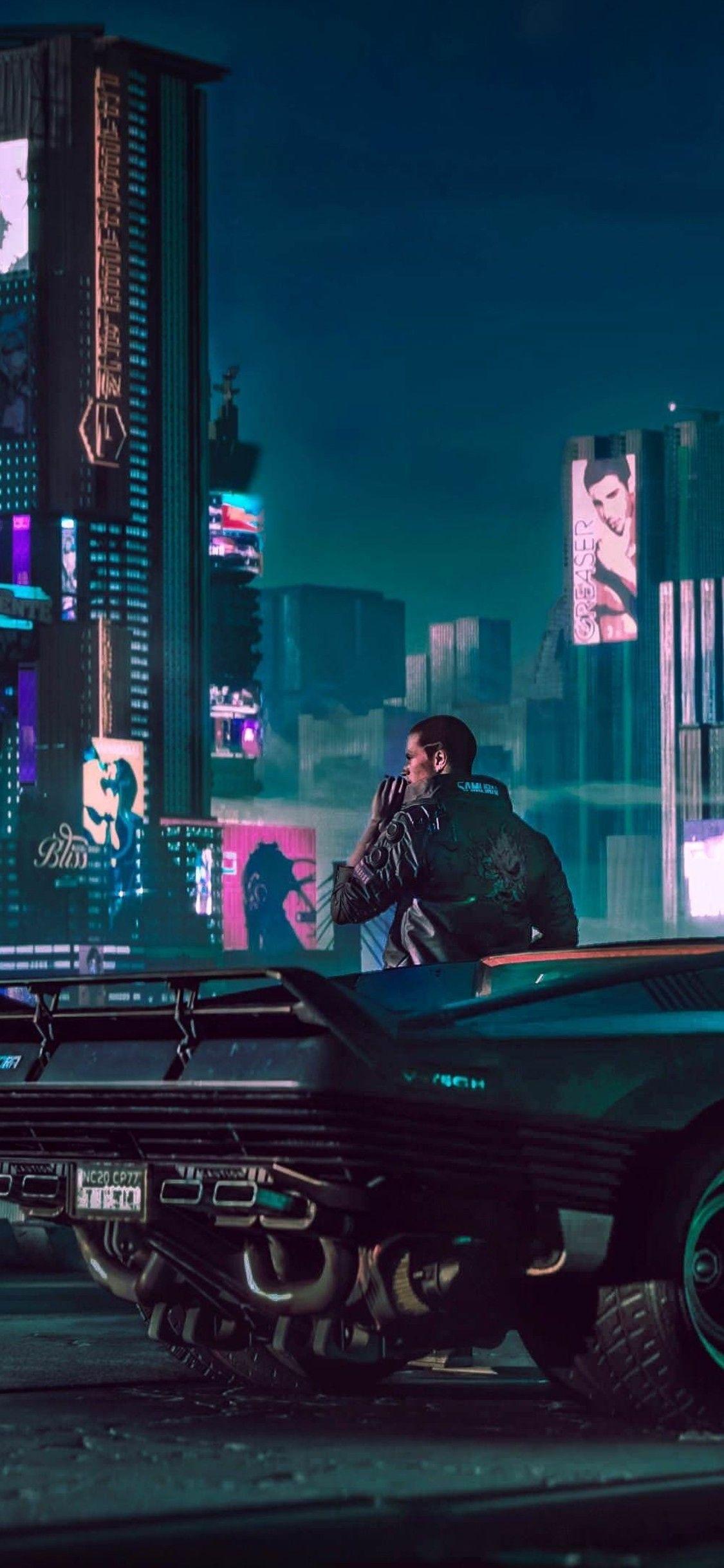 1125x2436 2018 Cyberpunk 2077 4k Iphone XSIphone 10Iphone X HD 1125x2436