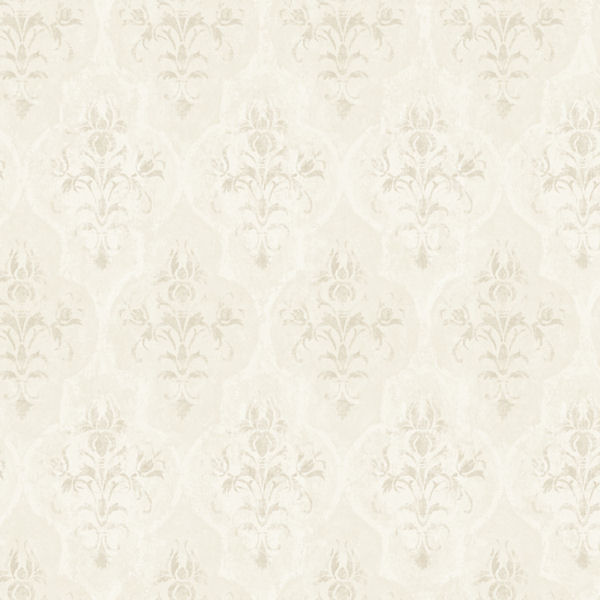 Grey Moroccan Damask Wallpaper   Wall Sticker Outlet 600x600