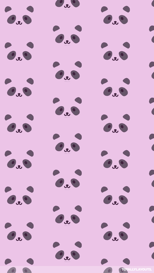 Pink Panda Wallpaper WallpaperSafari