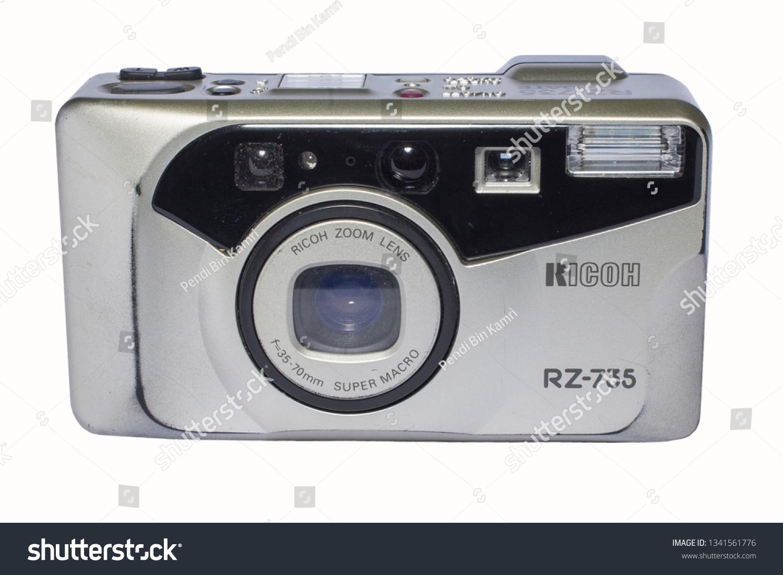 Ricoh Film Camera White Background Kuching Stock Photo Edit Now 1500x1101