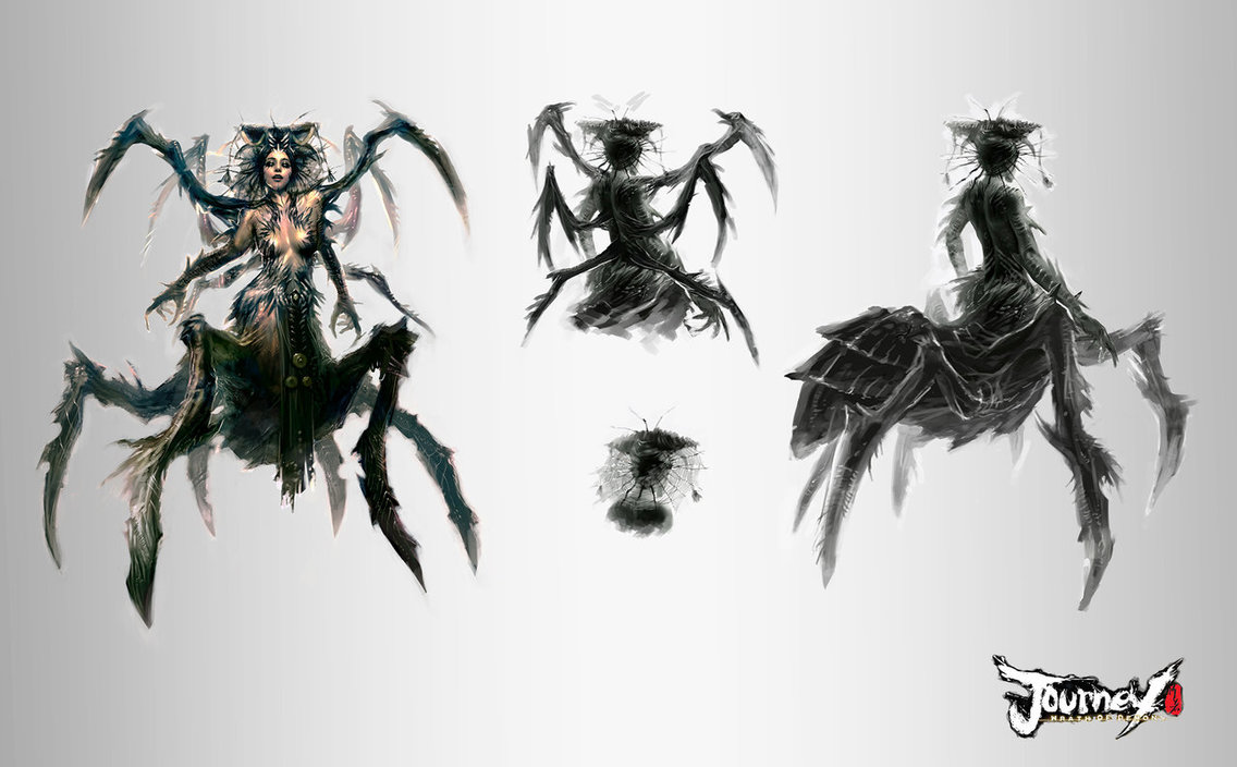 Elise The Spider Queen Wallpaper Spider queen concept 03 by 1136x704