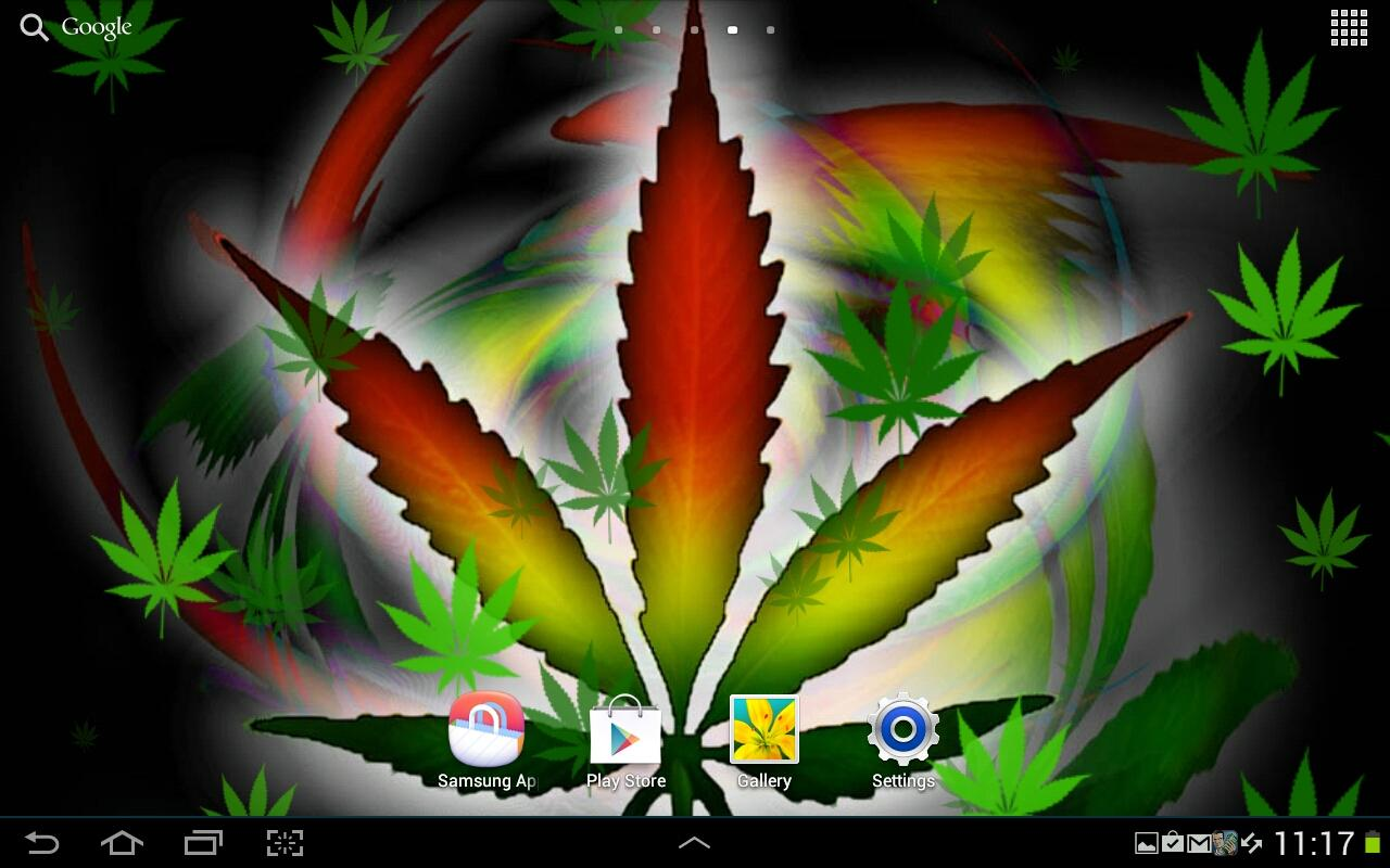 Weed Live Wallpaper   screenshot 1280x800