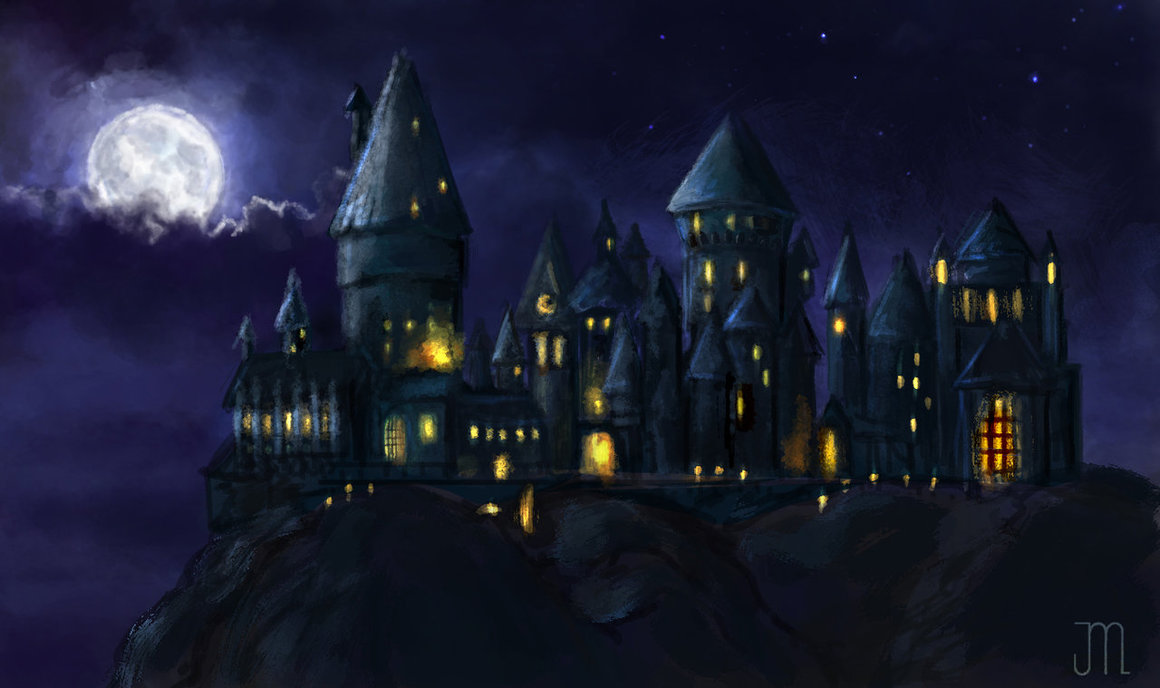 Hogwarts Castle by juliyore 1160x688