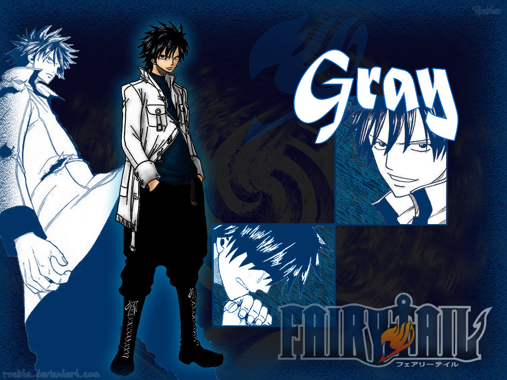 Fairy Tail Wallpaper Gray Images amp Pictures   Becuo 1024x768