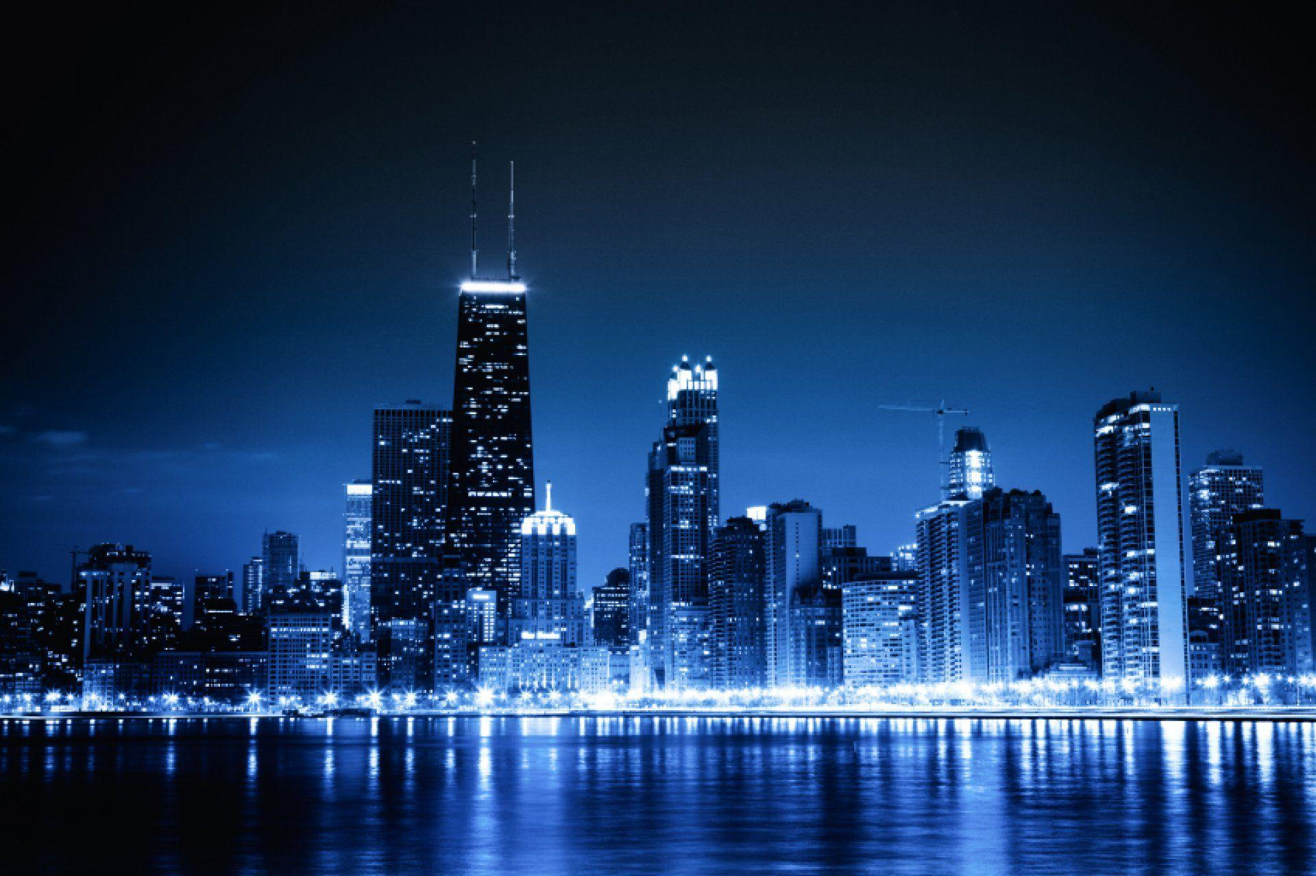 Chicago Skyline Backgrounds 1920x1278