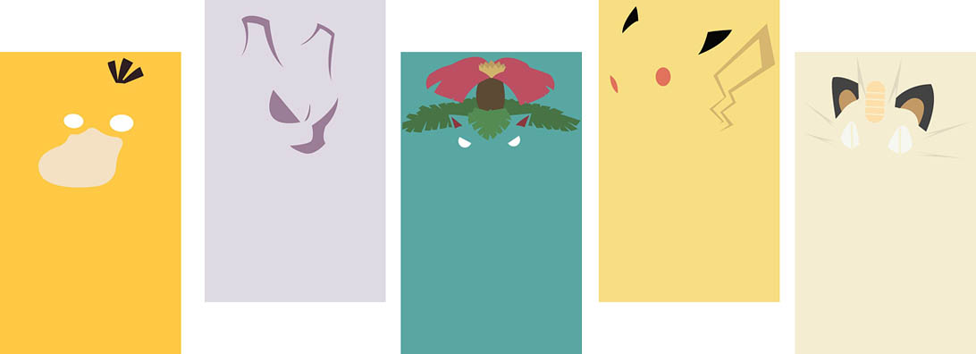 Pokemon Wallpapers 1092x396