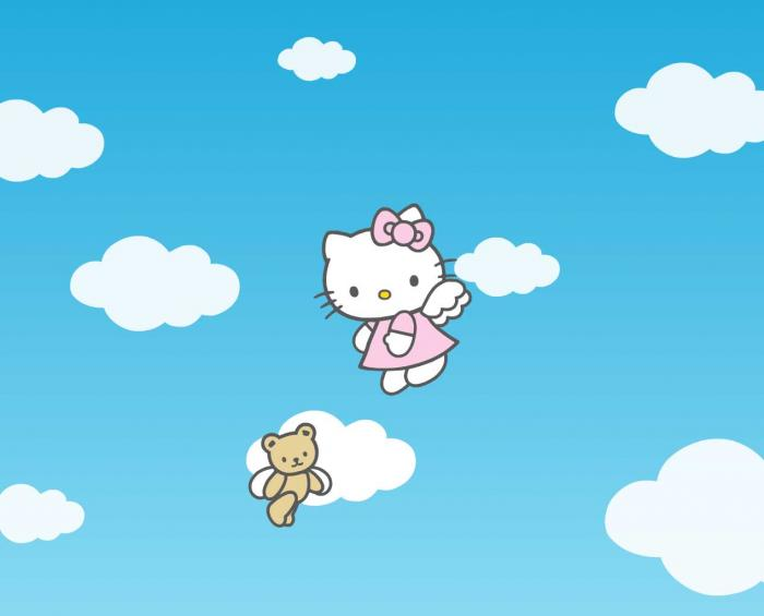 Hello Kitty Screensaver   Download 700x565