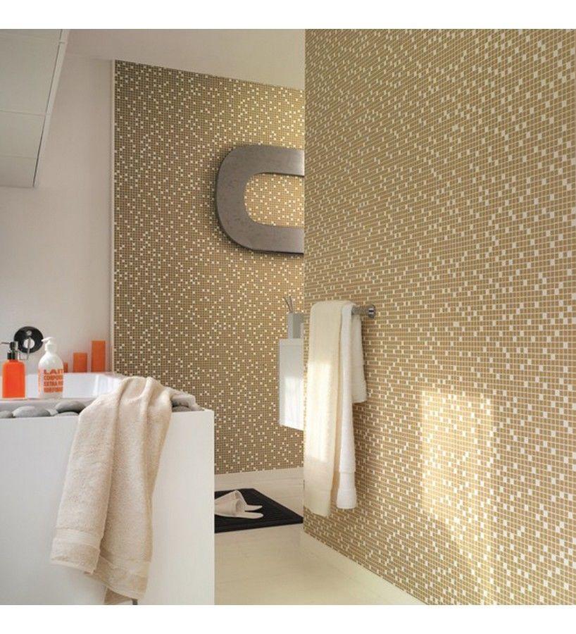Free Gold Cream Washable Solid Vinyl Wallpaper