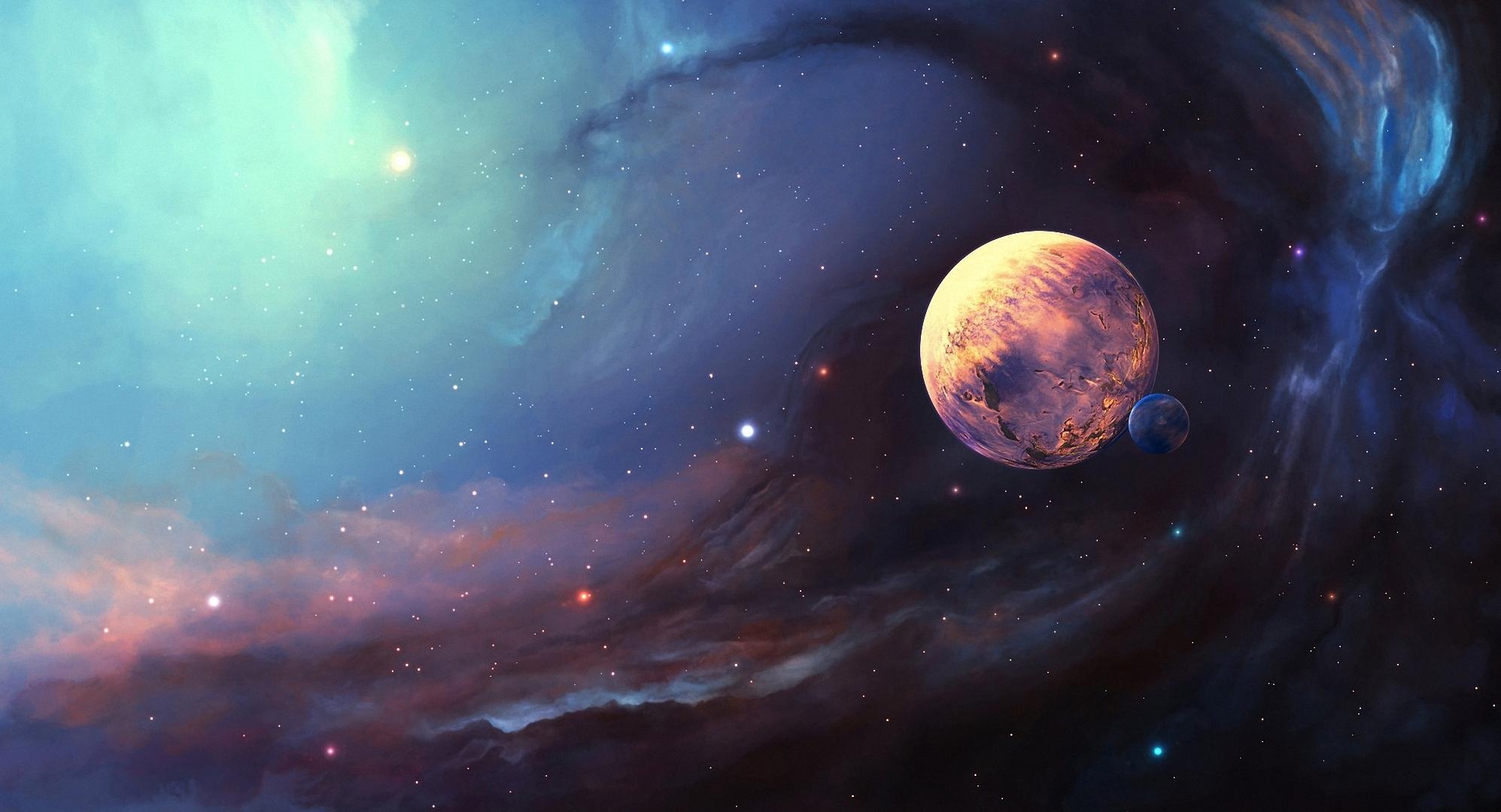 Space Nebula Satellite 1995x1080 4916 HD Wallpaper Res 1995x1080 1995x1080